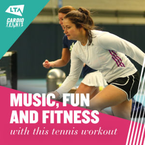 Cardio Tennis Workout at Cheam Tennis Club in Surrey